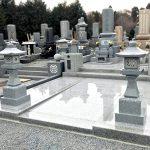 大面積30平方を超える立派な1.3尺和型墓石が完成。茨城県稲敷郡阿見町にて